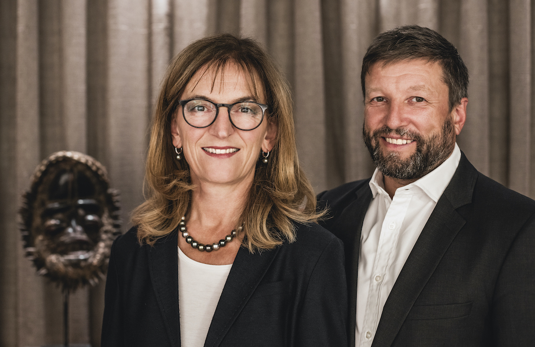 Porträt von Stefan und Annette Lachenmann