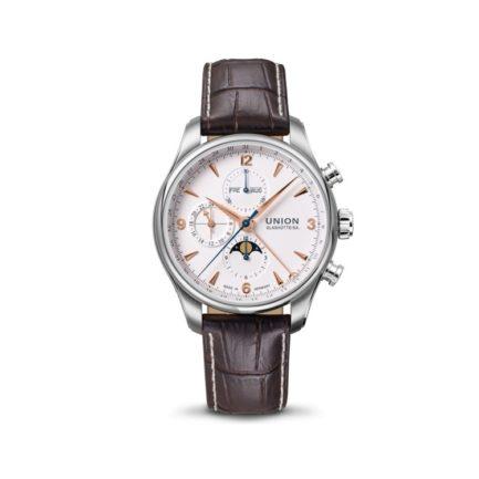 Union Glashütte Belisar Chronograph mit Mondphasenanzeige