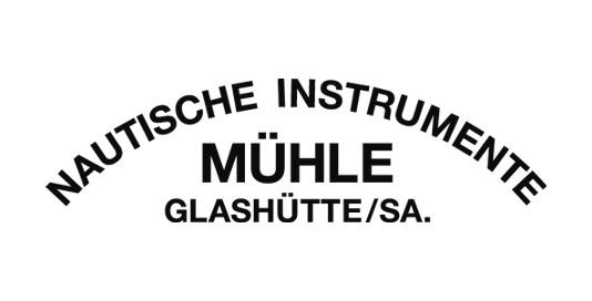 Logo Mühle Glashütte Uhren