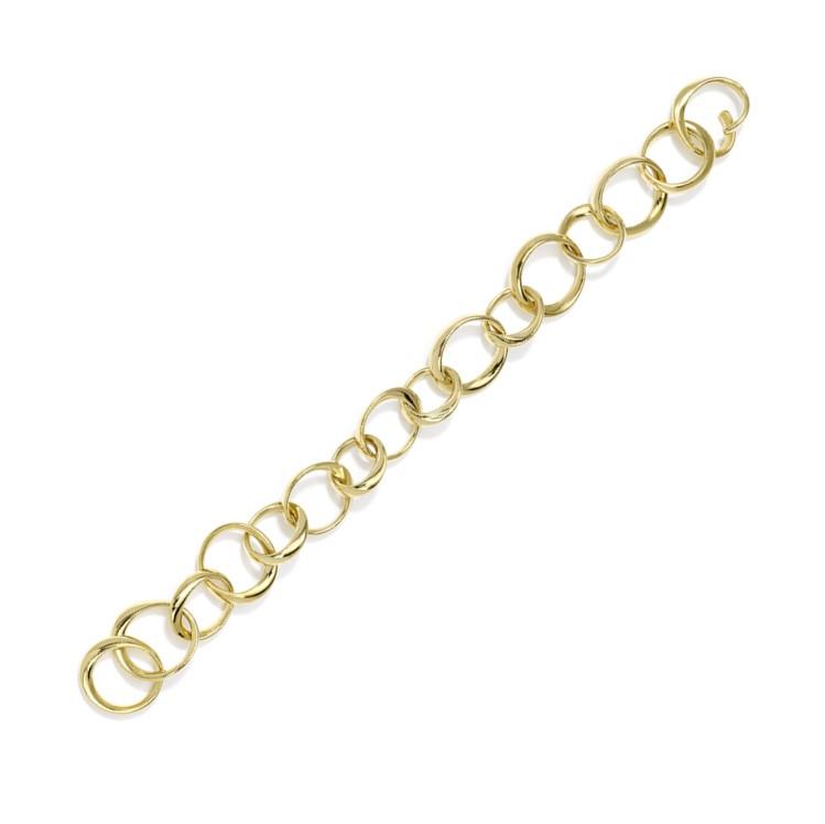 Armband aus unregelmäßigen Gliedern handgewickelt